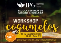 Workshop de Cogumelos na ESTH/IPG
